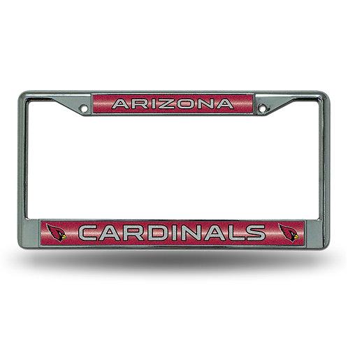 Cardinals Bling Glitter License Plate Frame