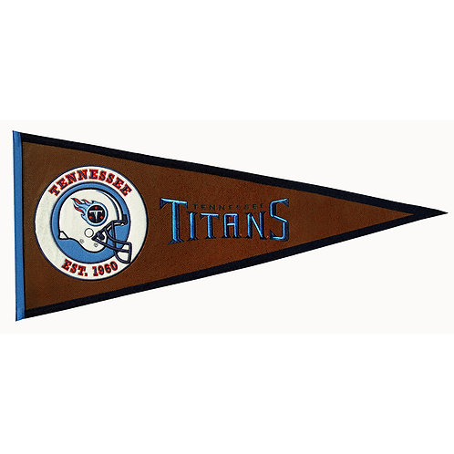 Titans Pigskin Traditions Pennant (13x32)