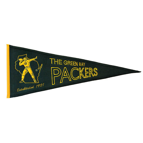 Green Bay Packers Throwback Pennant (13x32)
