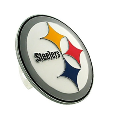 Pittsburgh Steelers Logo Hitch Cover