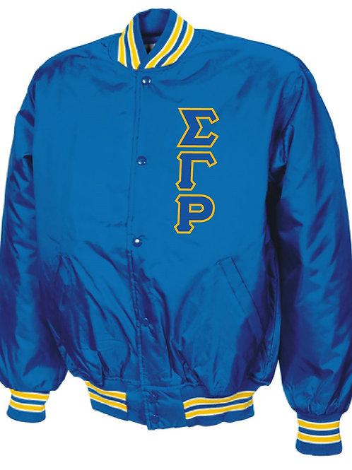 Sigma Gamma Rho Baseball Jacket