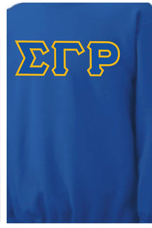 Royal Blue SGRho Fleece Crewneck Sweatshirt