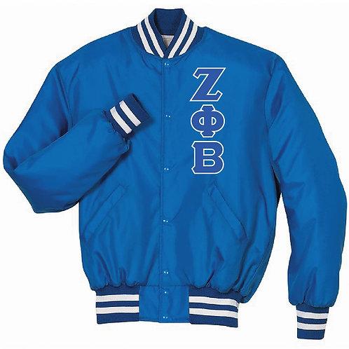 Zeta Phi Beta Baseball Jacket