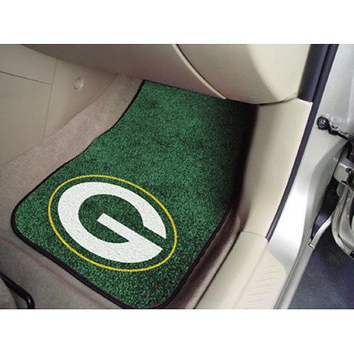 Green Bay Packers Car Floor Mats (2)