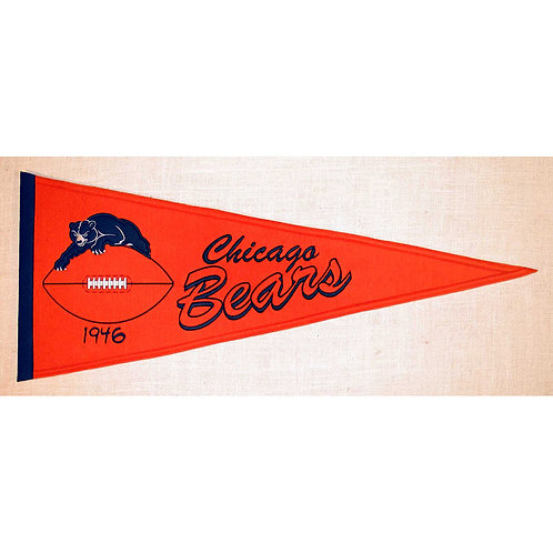 Chicago Bears Throwback Pennant (13x32)