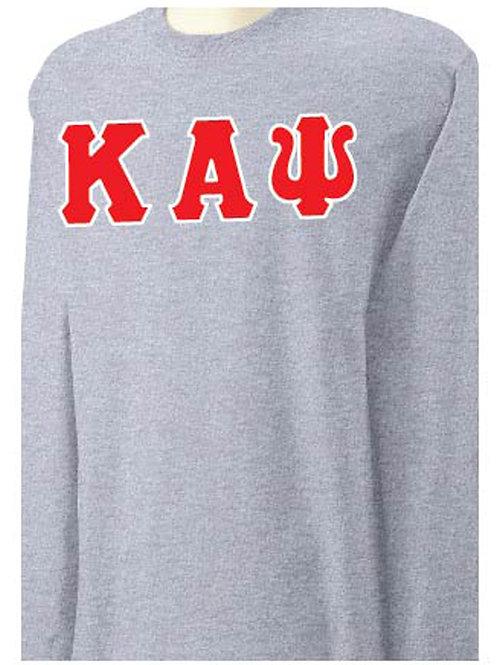 Sports Gray Kappa Long Sleeve Tee