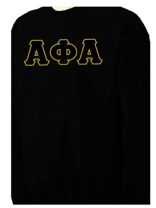 Alpha Phi Alpha  Black Fleece Crewneck Sweatshirt