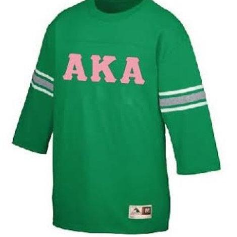 Alpha Kappa Alpha Old School Football Jersey
