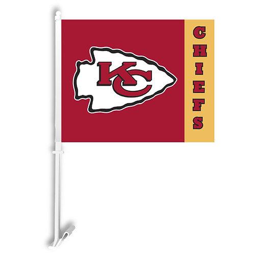 Kansas City Chiefs Car Flag