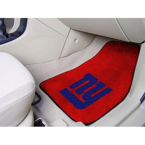 New York Giants Floor Mats (2)