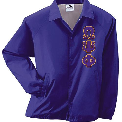 Omega Psi Phi Coach's Jacket