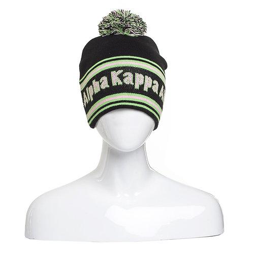 Alpha Kappa Alpha Signature Beanie
