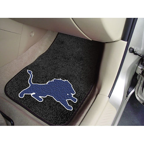 Detroit Lions Car Floor Mats (2)