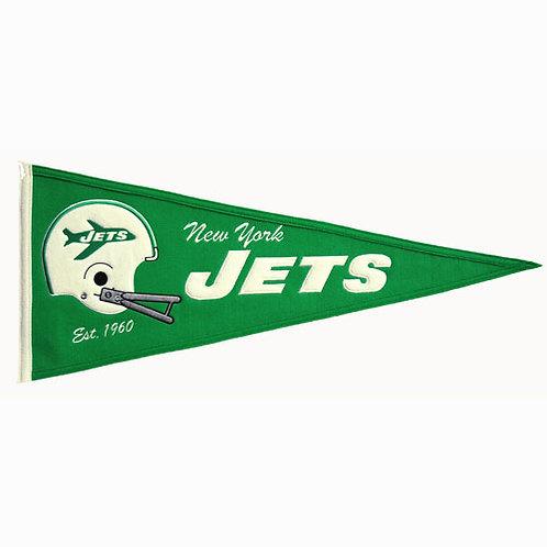 "New York Jets NFL ""Throwback"" Pennant (13""x32"")"