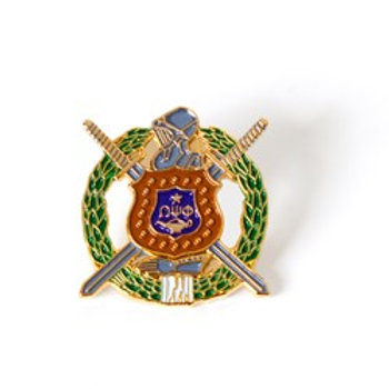 Omega Psi Phi 3D Color Shield Pin