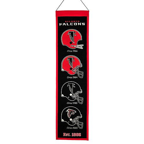 Atlanta Falcons Heritage Banner (8x32)