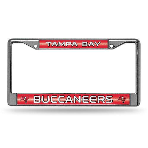 Buccaneers Bling Glitter License Plate Frame