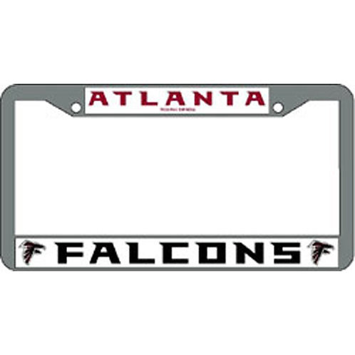 Atlanta Falcons Chrome License Plate Cover