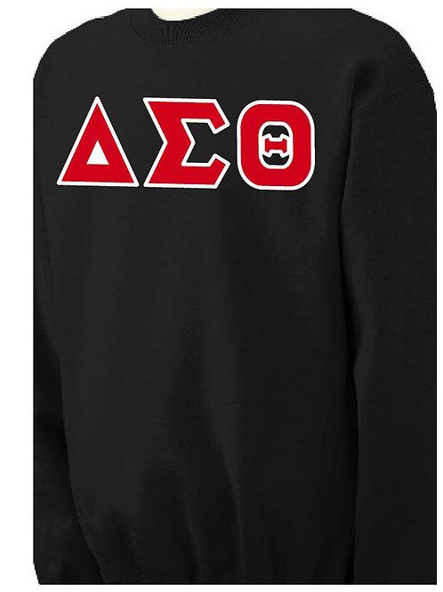 Black DST Fleece Crewneck Sweatshirt