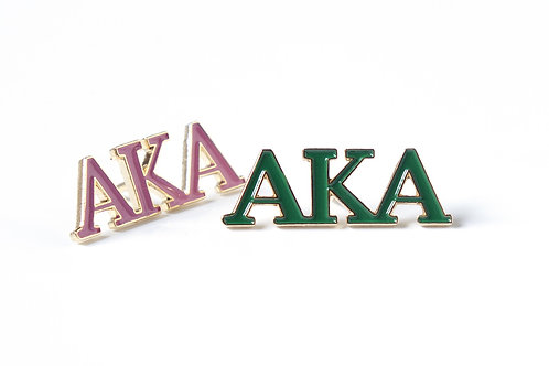 AKA 3 Letter Color Pin