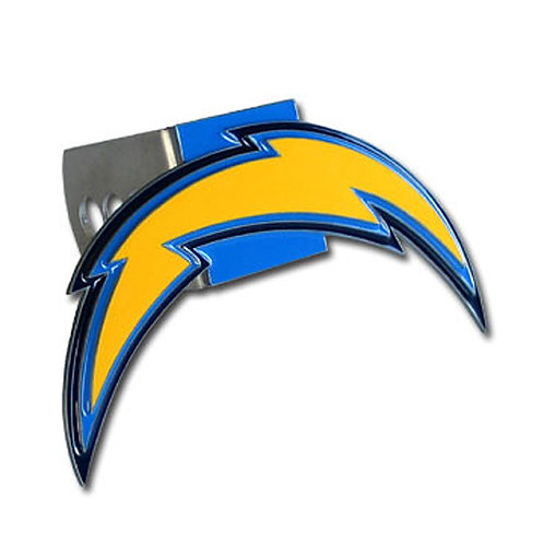 San Diego Chargers Logo Hitch Cover