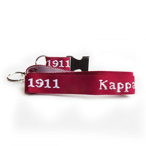 Kappa Alpha Psi Woven Embroidered Lanyard