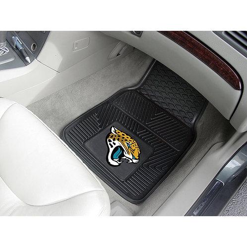 Jacksonville Jaguars Rubber Floor Mats (2)