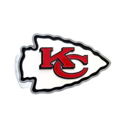 Kansas City Chiefs Logo Hitch Cover