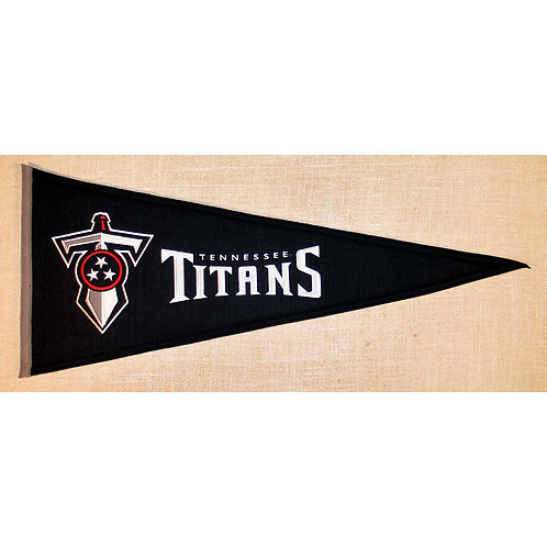 Tennessee Titans Throwback Pennant (13x32)