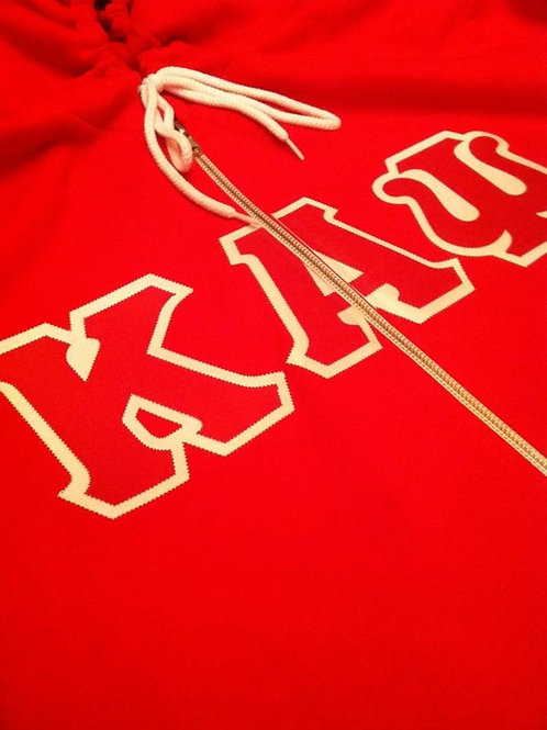 Kappa Alpha Psi Full Zip Fleece Hoody