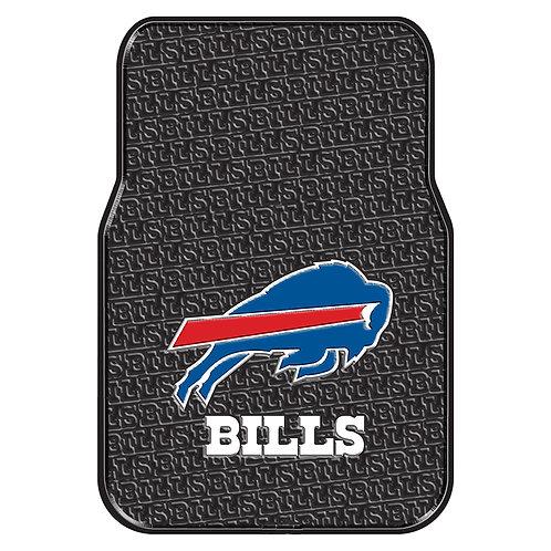 Buffalo Bills Rubber Floor Mats: (2)