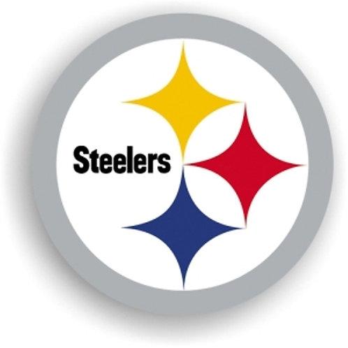 """Pittsburgh Steelers 12"""" vinyl logo magnet"""