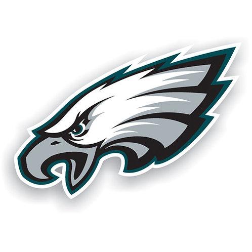 """Philadelphia Eagles 12"""" vinyl logo magnet"""
