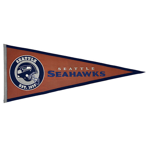 Seahawks Pigskin Traditions Pennant (13x32)