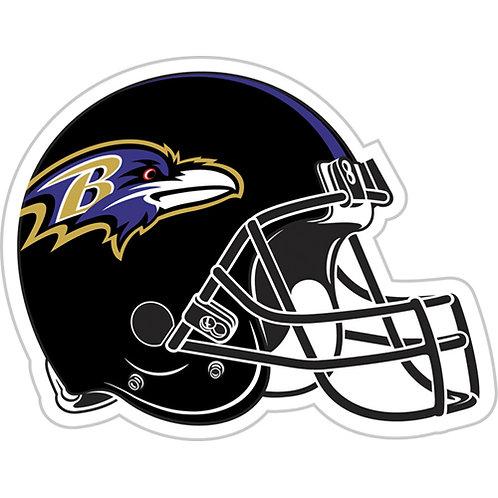 """Baltimore Ravens NFL 12"""" Vinyl Helmet Magnet"""
