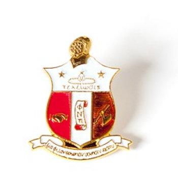 Kappa Alpha Psi 3D Color Shield Pin