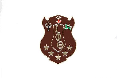 Iota Phi Theta Die Cut Car Badge