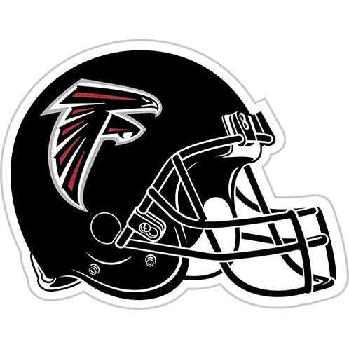 "Atlanta Falcons 12"" vinyl helmet magnet"