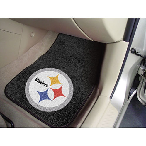 Pittsburgh Steelers NFL Car Floor Mat (2 Front)