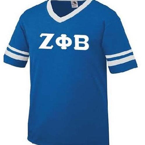 Zeta Phi Beta 360 Stripe Sleeve Jersey