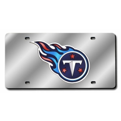 Tennessee Titans Laser Cut License Plate Tag