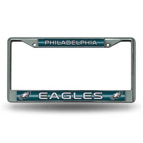 Eagles Bling Glitter License Plate Frame
