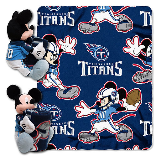 Tennessee Titans Mickey Mouse Throw Combo
