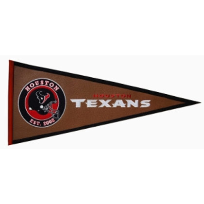 Houston Texans Pigskin Traditions Pennant (13x32)