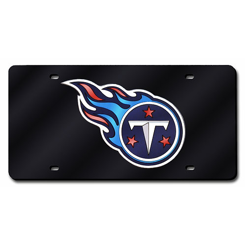 Tennessee Titans blue Laser Cut License Plate Tag