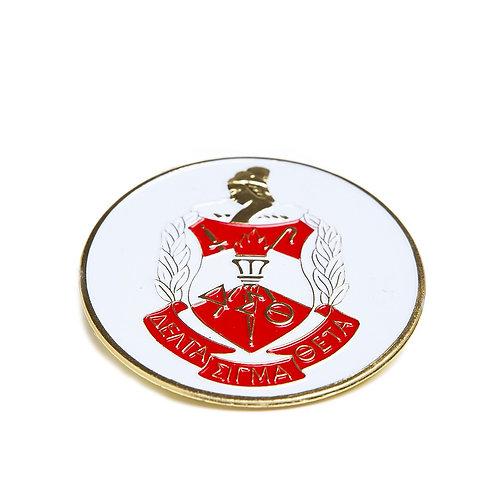 DST Round Car Badge