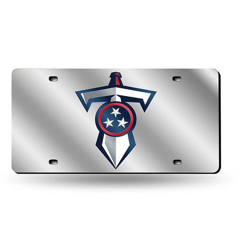 Titans Throwback Laser Cut License Plate Tag