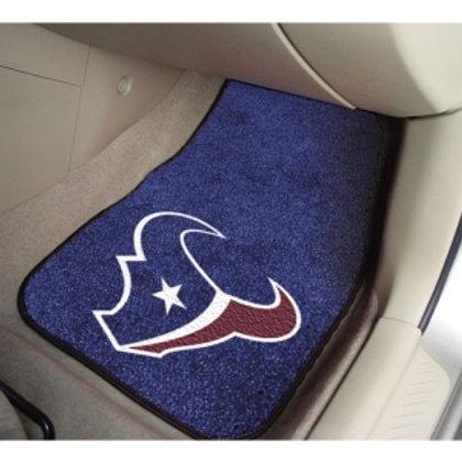 Houston Texans Floor Mats (2)