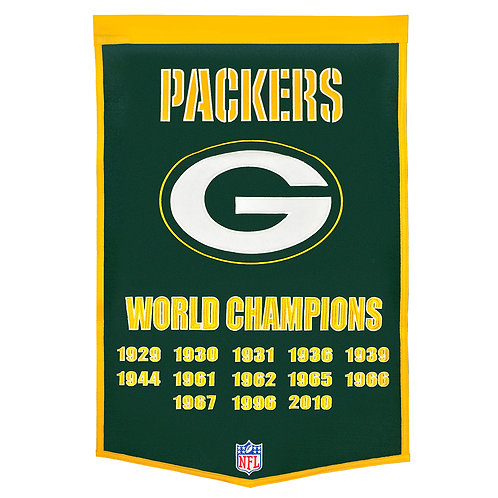 Green Bay Packers NFL Dynasty Banner (24x36)