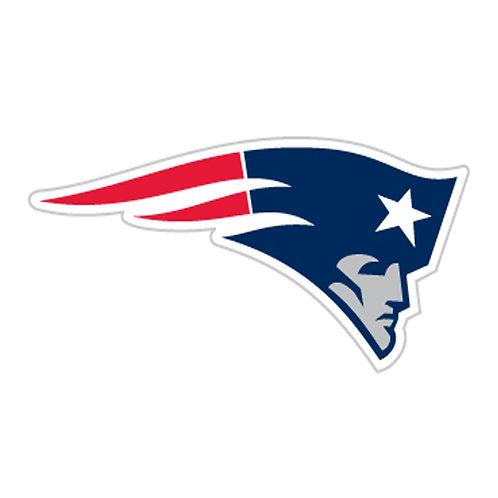 "New England Patriots 12"" vinyl logo magnets"